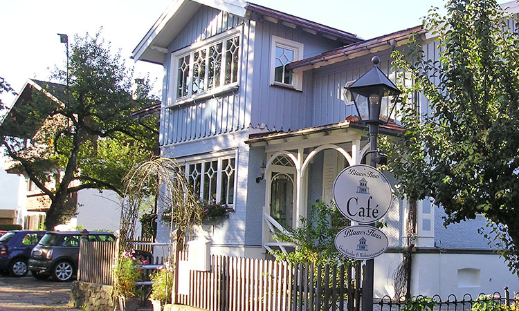 Cafe Blaues Haus in Oberstaufen