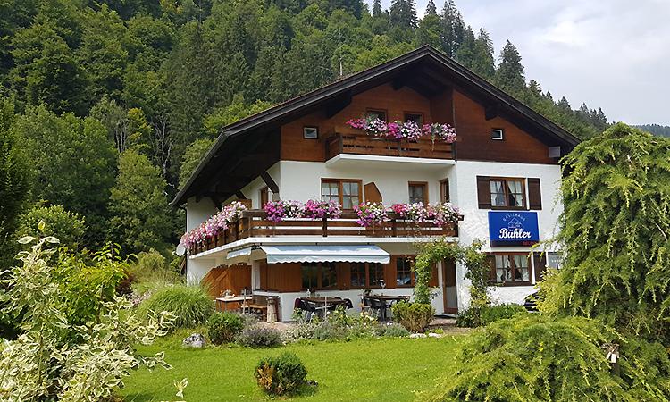 Ferienwohnungen Gästehaus Bühler in Oberstdorf