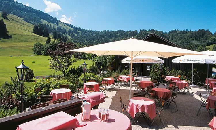 Golfrestaurant in Oberstaufen-Steibis