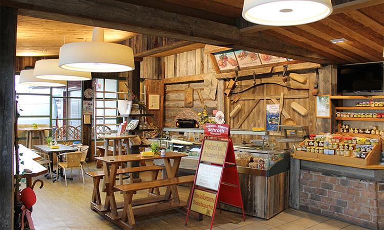 Holzofenbäckerei Schroth in Oberstdorf