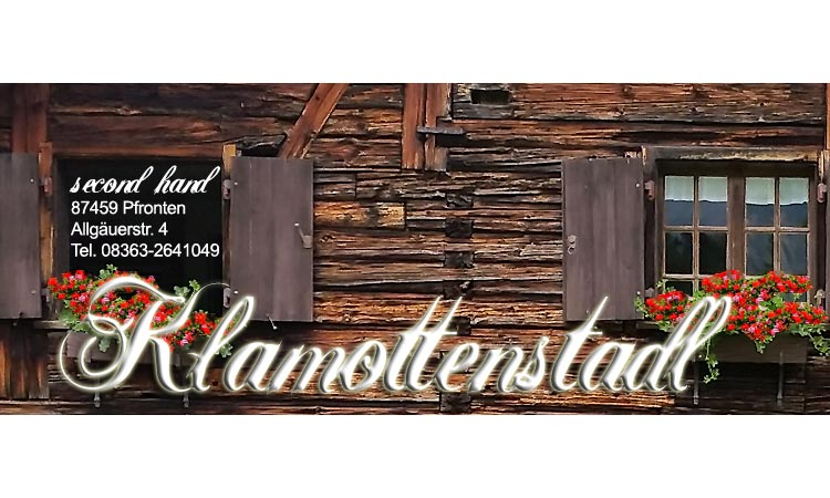 Klamottenstadl - Second Hand in Pfronten